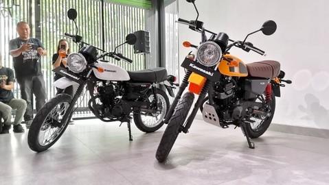 Bản đặc biệt Kawasaki W175TR ra mắt để cạnh tranh với Yamaha XSR155, giá bán hơn 50 triệu