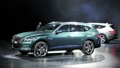 """Thương hiệu con của Hyundai """"thai nghén"""" Genesis GV90 - đối thủ của """"chuyên cơ mặt đất"""" Lexus LX570"""