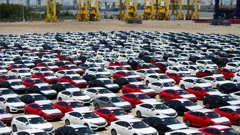 Nửa đầu tháng 1/2020, ô tô nhập khẩu thong thả về Việt Nam chỉ với khoảng 2.300 chiếc