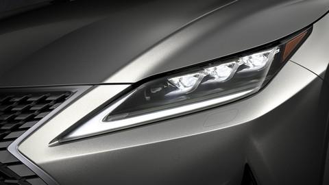Lexus RX 2020 nhận được công nghệ đèn LED đột phá đầu tiên trên thế giới