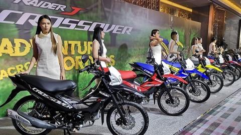 Underbone đa địa hình Suzuki Raider J Crossover chính thức ra mắt với giá bán dưới 30 triệu