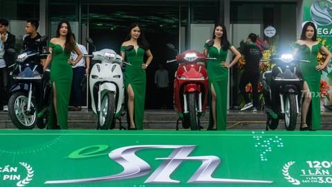 """Sau cuộc """"thánh chiến"""" với Honda, Pega đã buộc phải đổi tên xe máy điện eSH thành ESP"""