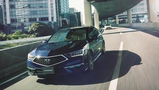 Sedan cao cấp Honda Legend 2021 trở thành xe thương mại đầu tiên có hệ thống lái tự động cấp độ 3