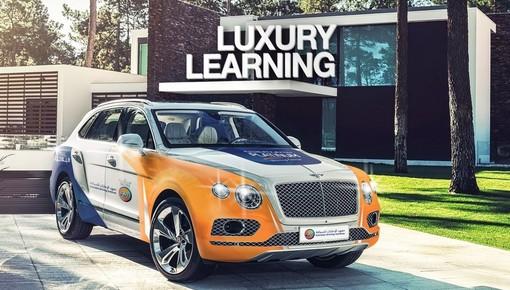 Trung tâm đào tạo lái xe dùng Range Rover, Porsche và Bentley làm ô tô tập lái cho học viên