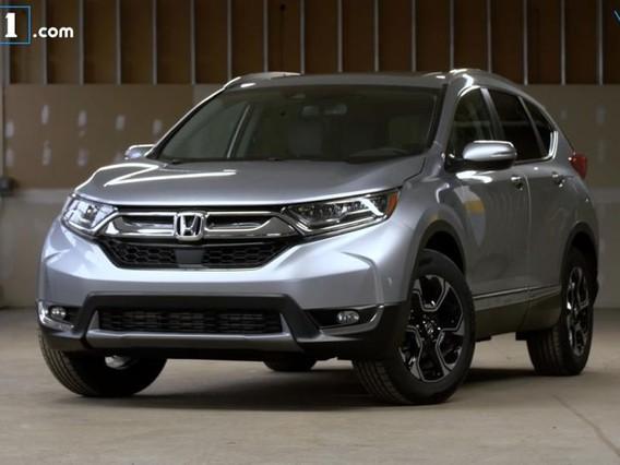 Đánh giá xe Honda CR-V 2017: Mẫu crossover phù hợp với mọi người
