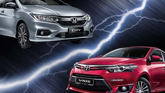 So sánh xe Honda City 2017 và Toyota Vios 2017: Ai sẽ xưng vương trong cuộc chiến sedan hạng B
