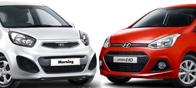 So sánh xe Hyundai Grand i10 2017 và Kia Morning 2017: Cuộc chiến khốc liệt trong phân khúc xe giá rẻ