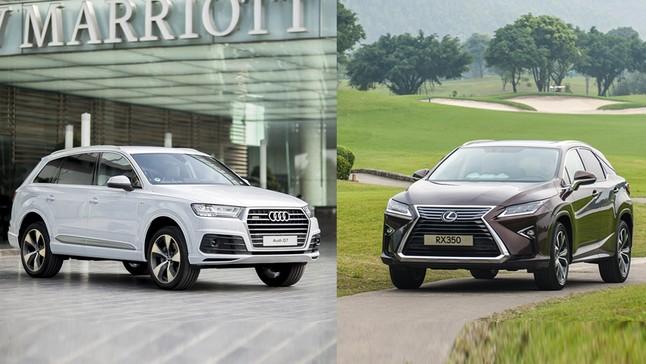 So sánh xe Lexus RX 2016 và Audi Q7 2016: Cơ hội nào cho xe Nhật khi đối đầu với xe Đức?