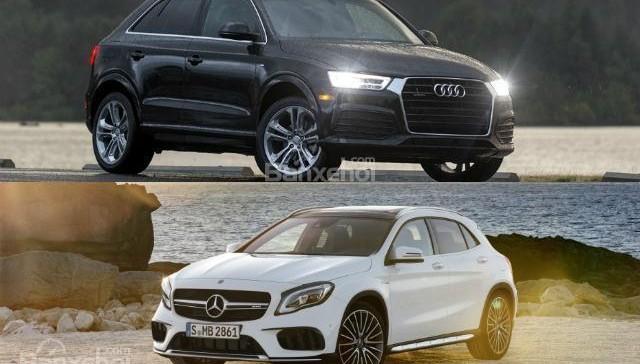 """So sánh xe Audi Q3 2018 và Mercedes-Benz GLA 2018: """"Mẹc"""" xuất sắc dẫn trước"""