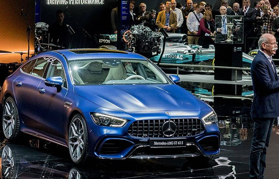 Đánh giá nhanh Mercedes-AMG GT 4-Door Coupe: Nhanh và mạnh như siêu xe