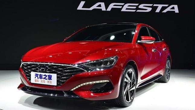 Đánh giá nhanh Hyundai Lafesta 2019: Sedan cỡ C mới, cạnh tranh Honda Civic
