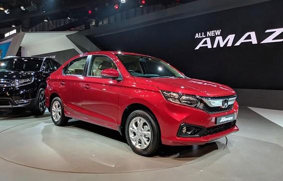 Đánh giá nhanh Honda Amaze 2018 có giá chỉ từ 188 triệu đồng tại Ấn Độ