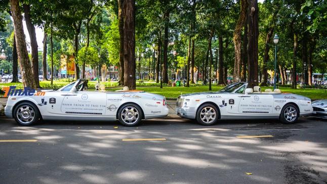 Đánh giá nhanh xe siêu sang mui trần Rolls-Royce Phantom Drophead Coupe của ông chủ Trung Nguyên