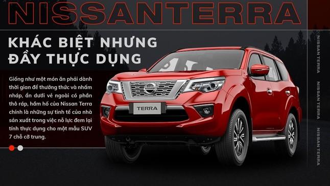 Nissan Terra: Khác biệt nhưng đầy thực dụng