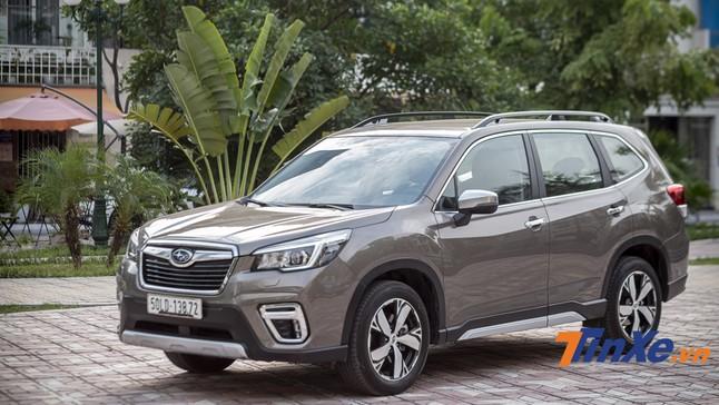 Subaru Forester 2019 - Lựa chọn đáng giá trong phân khúc hạng C