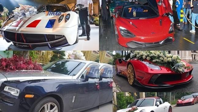 """Những siêu đám cưới diễn ra trong năm 2019, có cả Cường """"Đô-la"""" và Minh """"Nhựa"""" với dàn siêu xe đắt đỏ"""