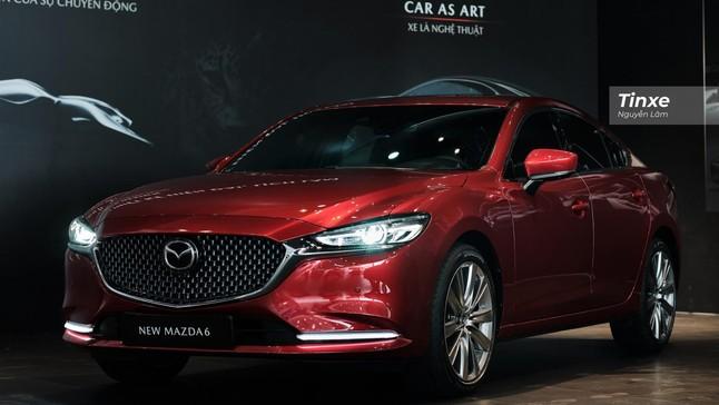 Soi kỹ Mazda6 2020 vừa ra mắt, công nghệ ấn tượng quyết đấu Toyota Camry