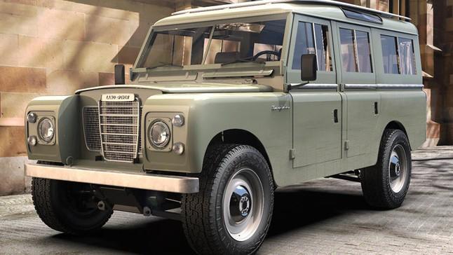 """Chiếc Land Rover Series III cổ điển """"độ thành xe điện"""" này có giá tới 4,3 tỷ đồng"""