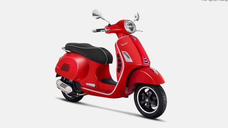 Vespa GTS 125 đỏ