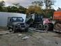Ô tô tải 10 bánh san bằng 3 ngôi nhà bên đường, 2 mẹ con tử vong