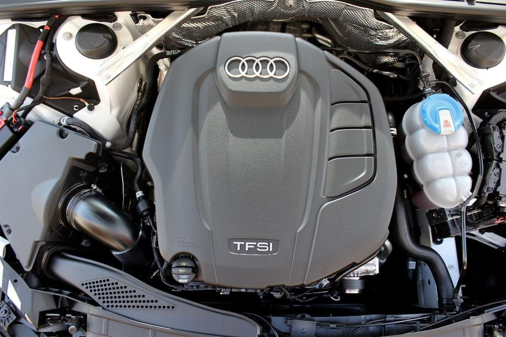 Trang bị Động cơ của xe Audi A5