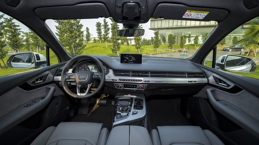 Thiết kế Nội thất xe Audi Q7