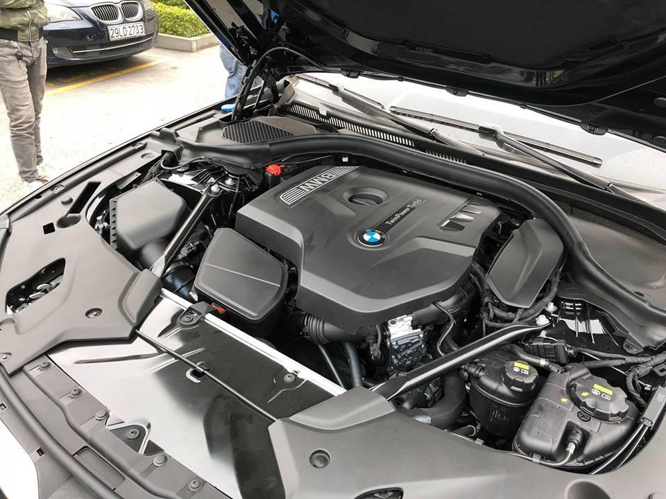 Trang bị Động cơ của BMW 5 Series