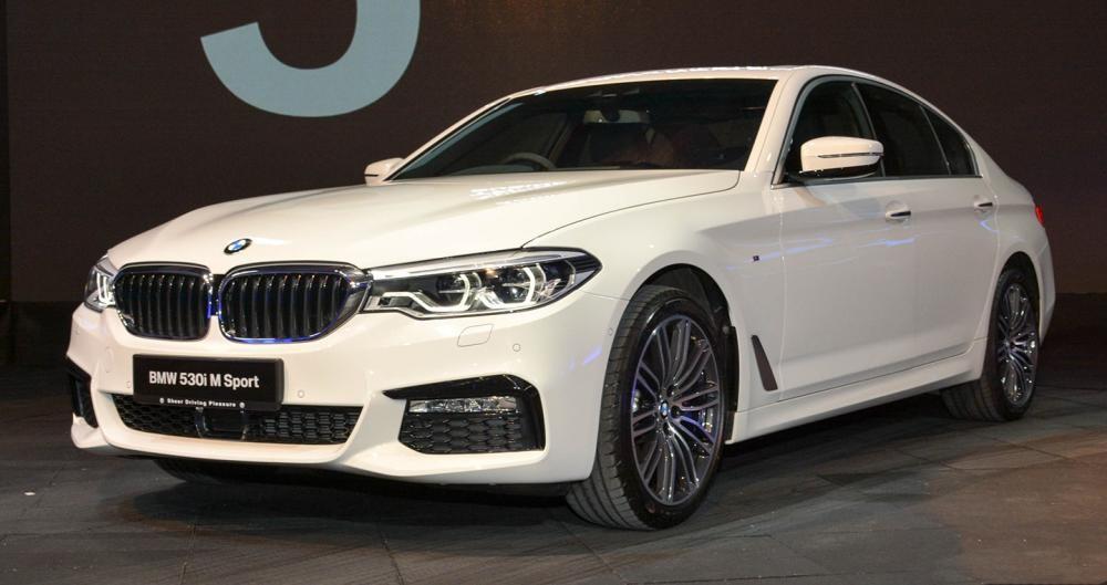 Thiết kế Ngoại thất của BMW 5 Series