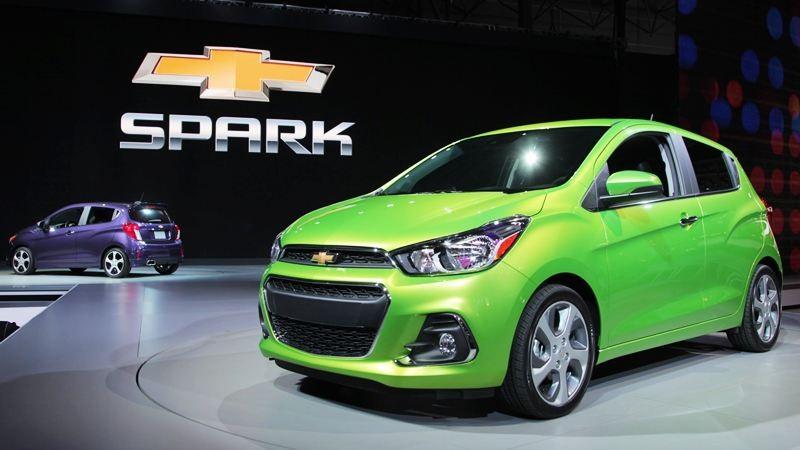Thiết kế ngoại thất của Chevrolet Spark 2018