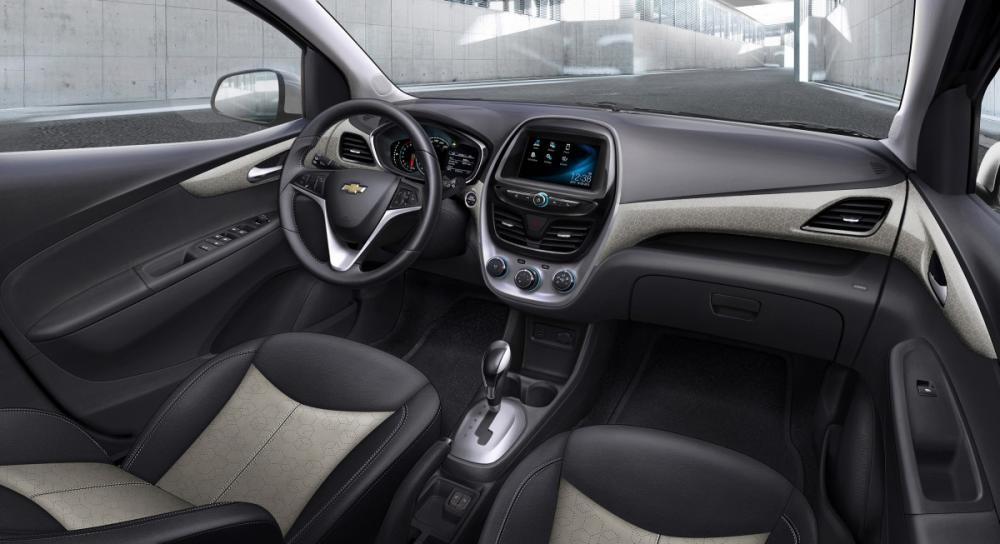 Thiết kế Nội thất của Chevrolet Spark 2018