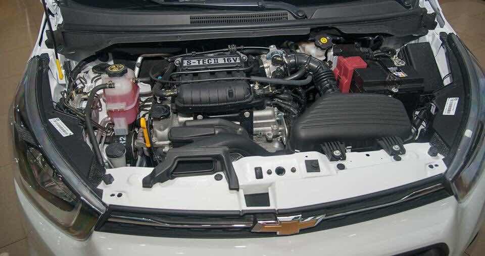Trang bị Động cơ của Chevrolet Spark