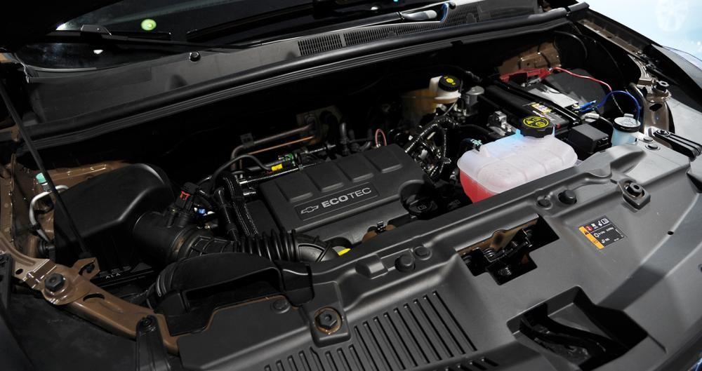 Trang bị Động cơ của Chevrolet Trax