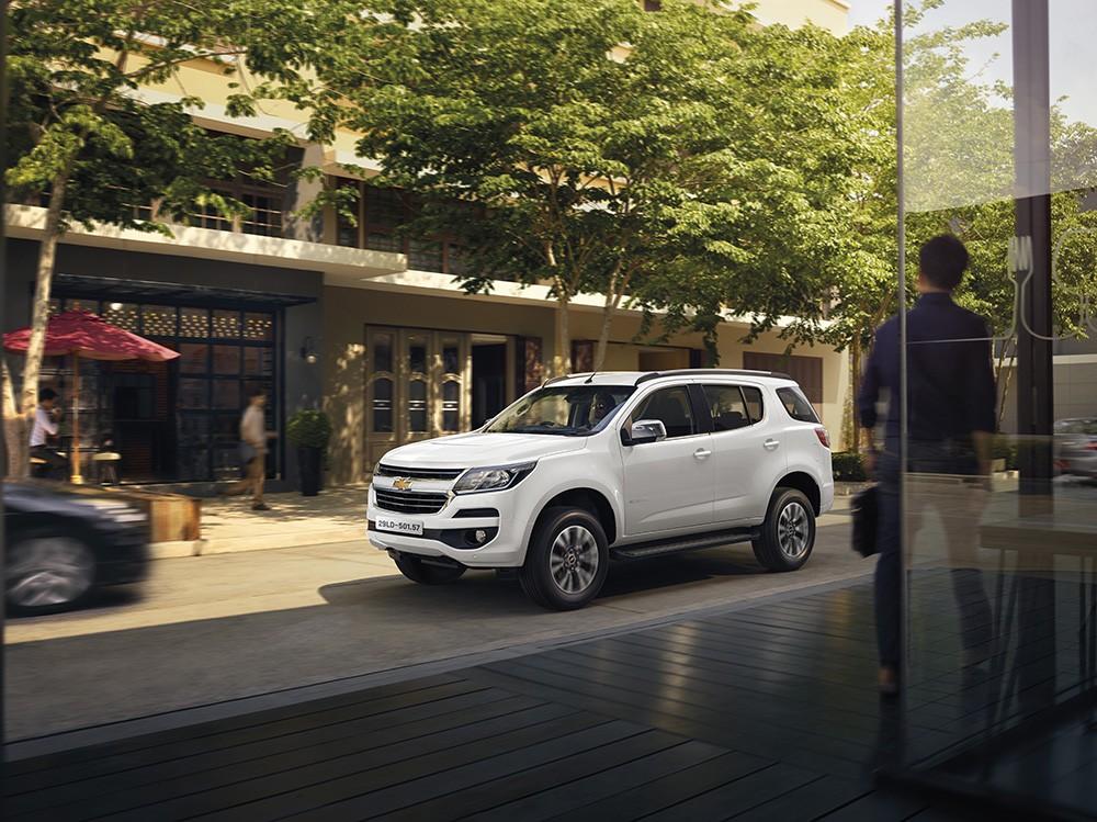 Thiết kế ngoại thất của Chevrolet Trailblazer 2019