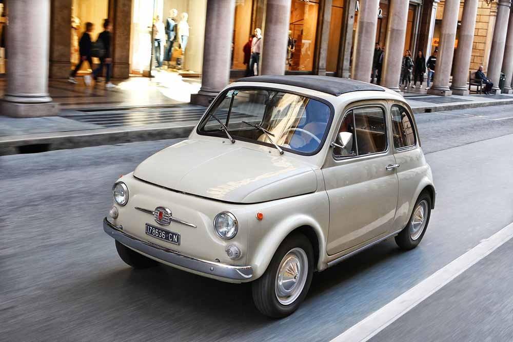Diện mạo nhỏ gọn xinh xắn của Fiat 500