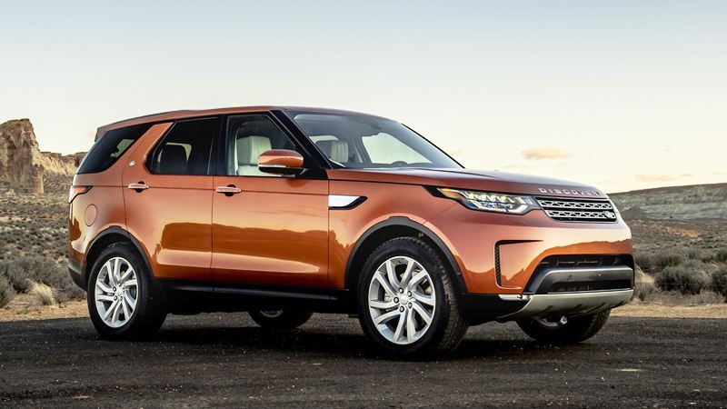 Thiết kế Ngoại thất Land Rover Discovery