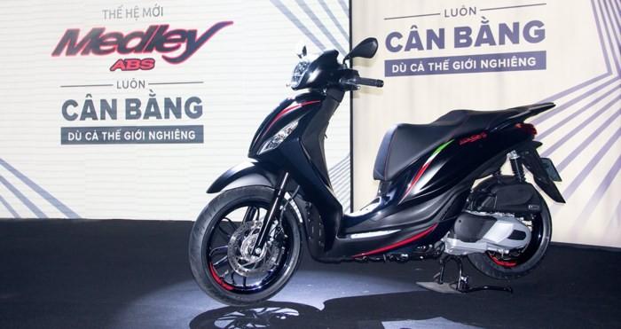 Tân binh Piaggio Medley ABS 2018 tại Việt Nam