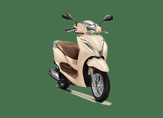 Honda Lead phiên bản cao cấp màu Vàng Nâu