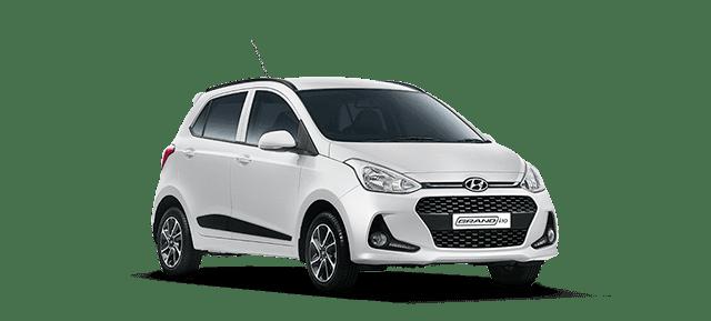 Mẫu Hyundai Grand i10 màu bạc