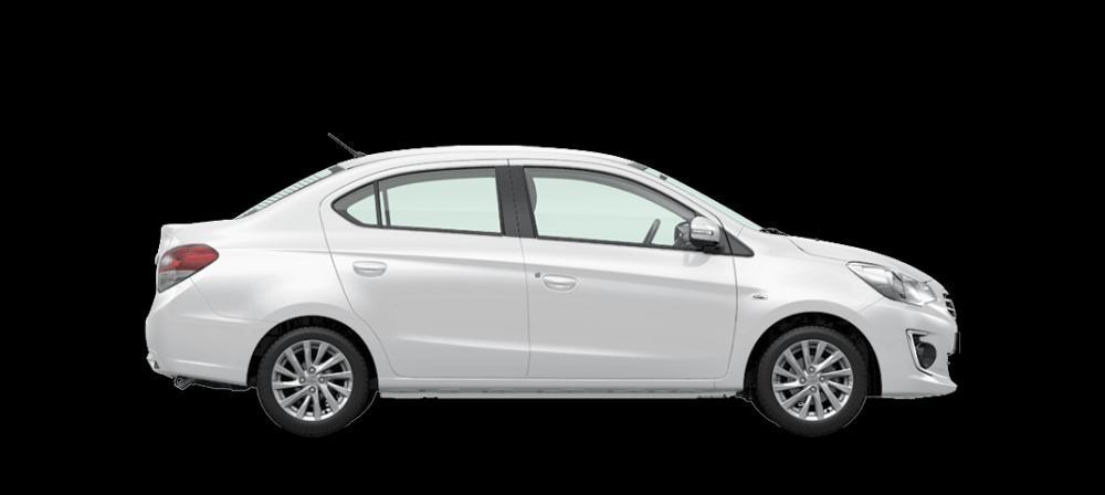 Mẫu Mitsubishi Attrage màu bạc