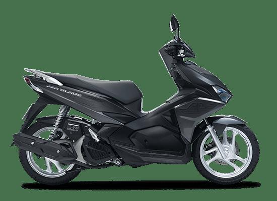 Mẫu Honda Air Blade màu xám đen