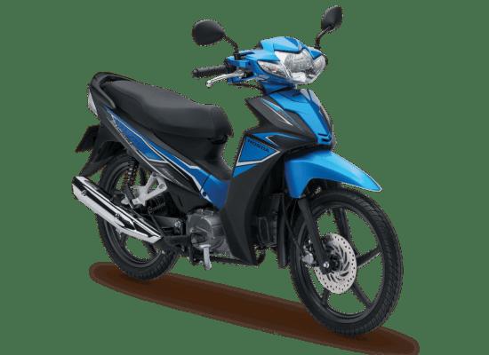 Mẫu Honda Blade màu xanh đen