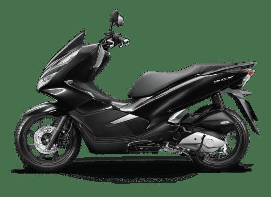 Mẫu Honda PCX màu đen