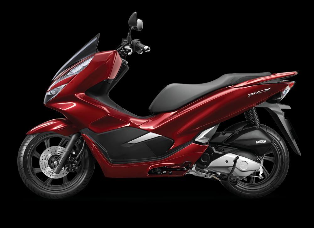 Mẫu Honda PCX màu đỏ