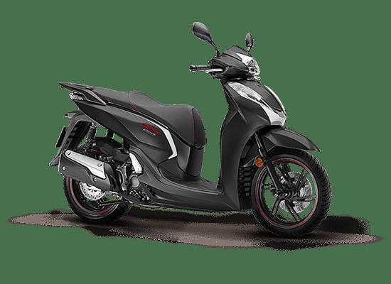 Mẫu Honda SH 300i màu xám đen