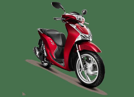 Mẫu Honda SH màu đỏ