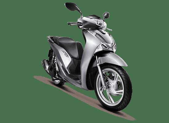 Mẫu Honda SH màu bạc