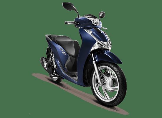 Mẫu Honda SH màu xanh lam - đen