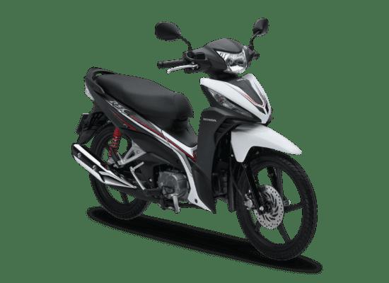 Mẫu Honda Wave RSX màu đen trắng