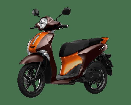 Mẫu Yamaha Janus màu cam nâu