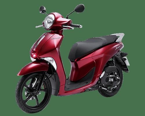 Mẫu Yamaha Janus màu đỏ